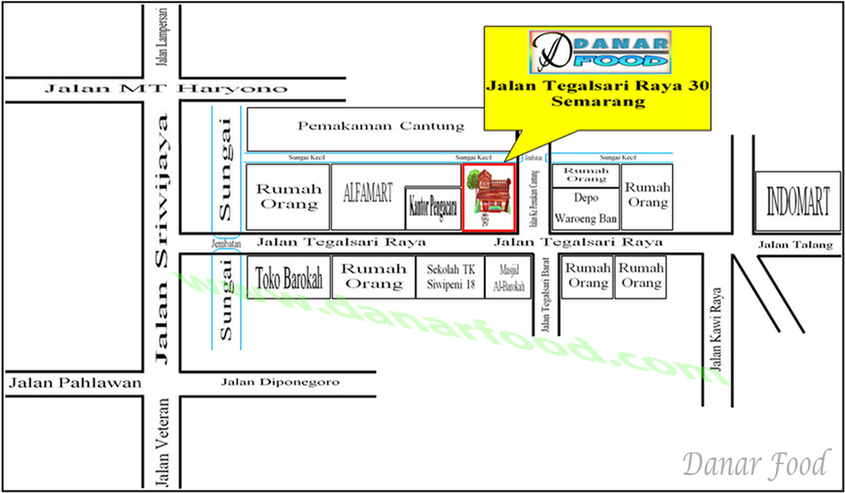 Lokasi Toko Tahu Bakso Semarang Goreng